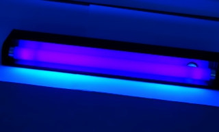 UV light for sanitizing